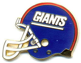 NFL Licensed Football Pin New York Giants Helmet Style - $5.00