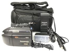 Panasonic Palmcorder VHSC PV-L858 Analog Camcorder Digital Camera Excell... - $52.95