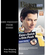 Men Hair Dye Color Brown Dark BIGEN 103 Permanent Easy and Quick by One ... - $22.99