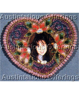 Rare Benson Photo Brooch Beading Kit Card Bead Heart Frame - $36.99