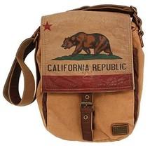 California Republic Bag by STUDIO MANHATTAN Small Crossbody Messenger New - $62.18 CAD