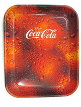 Coca-Cola Wet Look Tray Enjoy Coca-Cola Logo - $9.90