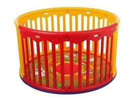 Dream On Me Circular Playard Red/Yellow Playpen... - $115.72