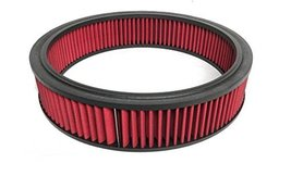 A-Team Performance High Flow Replacement Air Cleaner Washable and Reusable Round