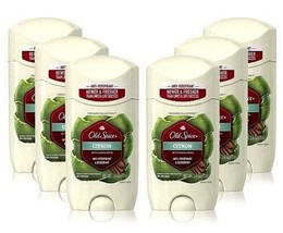 6 Old Spice Citron Sandalwood Deodorant/Anti Perspirant Mens 2.6 oz Soli... - $48.48