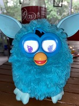 Furby Boom Interactive Toy Pet Hasbro 2012 Light Blue with Batteries Tested #1 - $42.56