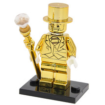 10 pcs Gold Limited Edition Chrom golden Minifigures Building Blocks Toy... - $27.50