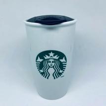 2011 Classic Starbucks Mermaid Ceramic Travel Mug Tall 12 oz * Free Ship... - $17.01