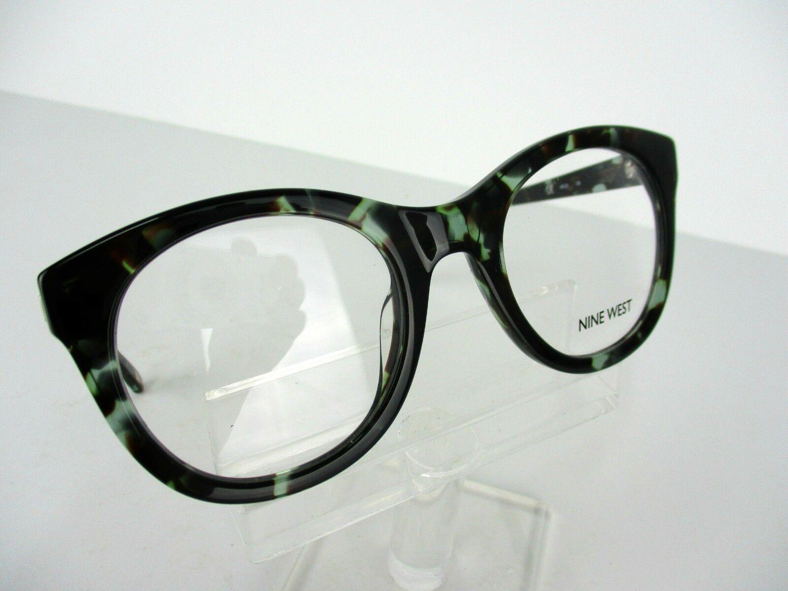 Nine West NW 5075 (442)  Aqua Tortoise.49 X 22 135 mm Eyeglass Frame