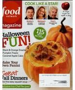 Halloween Fun food Network Magazines 115 new recipes make your own panin... - $5.94
