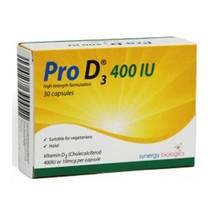 Pro D3 Vitamin D3 400IU Capsules x 30 - $12.57