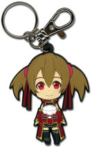 Sword Art Online Chibi Silica Closed Mouth Smile Key Chain GE36637 *NEW* - $9.99