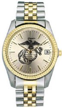 USMC Watch Women's EGA with Two-Tone Metal Band  @MPENT - $69.25