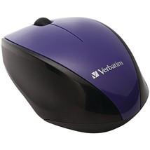 Verbatim Wireless Multi-trac Blue Led Optical Mouse (purple) VTM97994 - $22.18