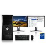 Dell Computer 3.0 GHz PC 4GB RAM 1 TB HDD Windows 10 Office 365 - $422.37