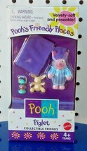 NEW - POOH'S FRIENDLY PLACES - PIGLET - COLLECTIBLE FRIENDS - MADE IN 1999 - $27.99