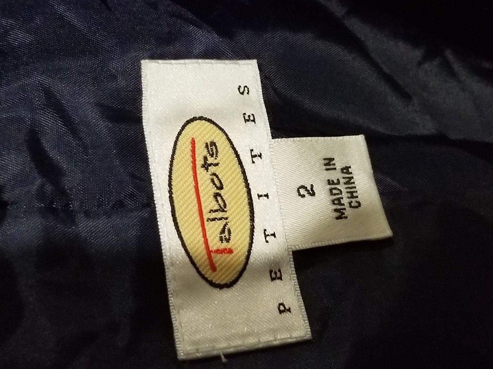 Talbots womens blazer sz 2