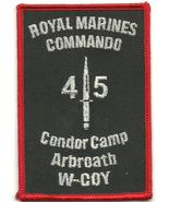 Royal Marines Commando Condor Camp Arbroath W-COY Patch  - $9.99