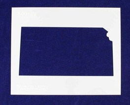 """State of Kansas Stencil 14 Mil 8"""" X 10"""" Painting /Crafts/ Templates - $13.99"""