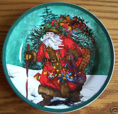 Royal norfolk santa plate