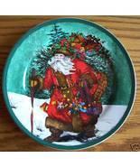 Royal norfolk santa plate thumbtall