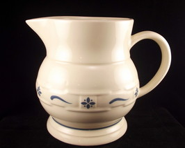 Longaberger pottery large pitcher 1 thumb200