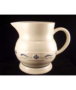 Longaberger pottery large pitcher 1 thumbtall