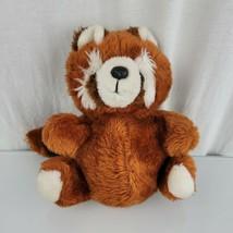 "MTY International Stuffed Plush Orange Raccoon Fox Red Panda Vintage Toy 9"" - $69.29"