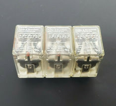 LOT OF 3 POTTER & BRUMFIELD KHU-17D12-24 RELAYS KHU17D1224, 24VDC image 3