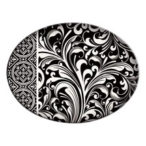 Michel Design Works Black Florentine Glass Soap Dish - $17.50