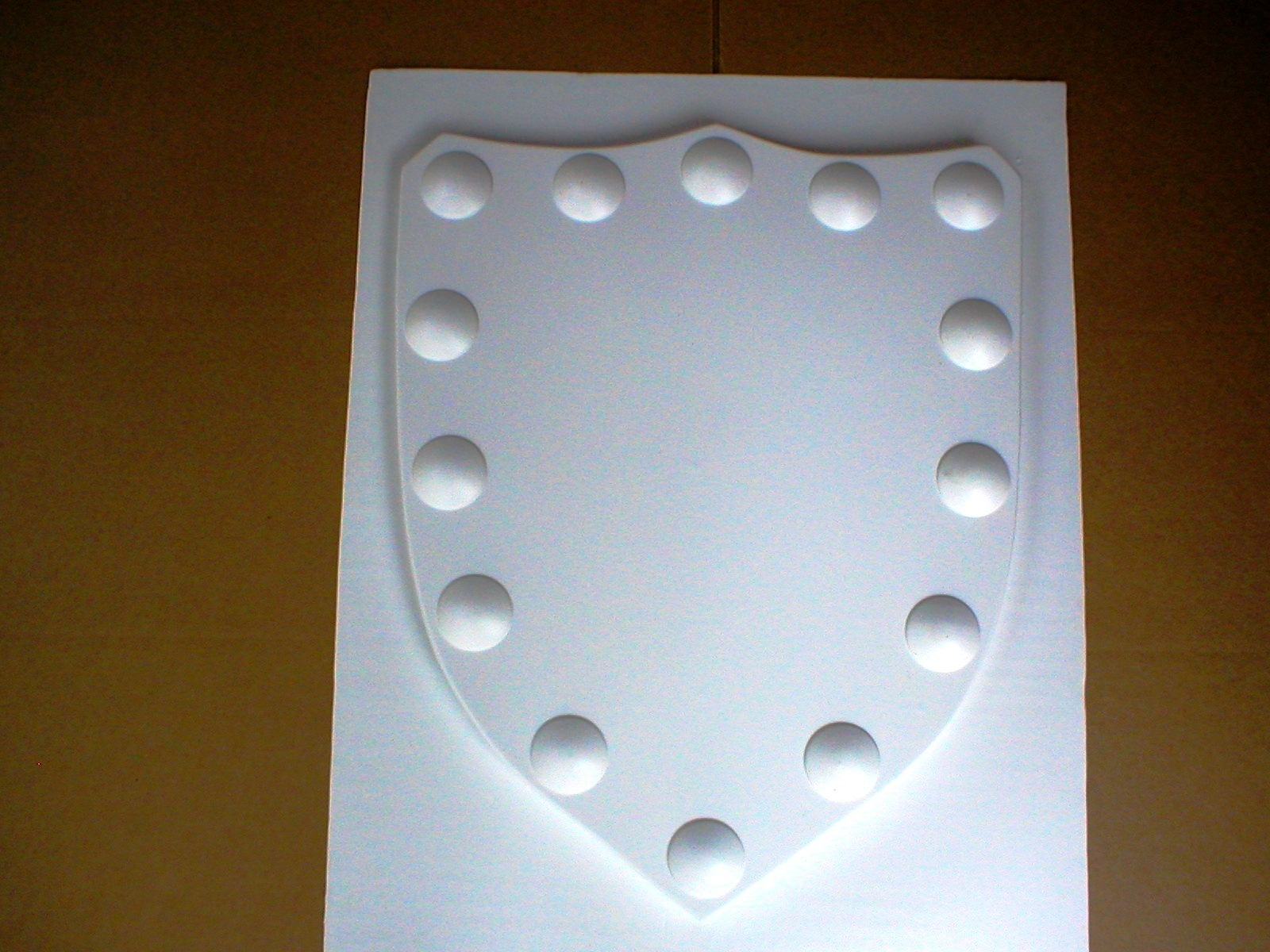 Mold 1503   24x30x2shield with full clavo trim