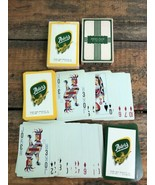 PETERS MEAT PRODUCTS Playing Cards 2 decks Advertising Minnesota Wiscons... - $19.27