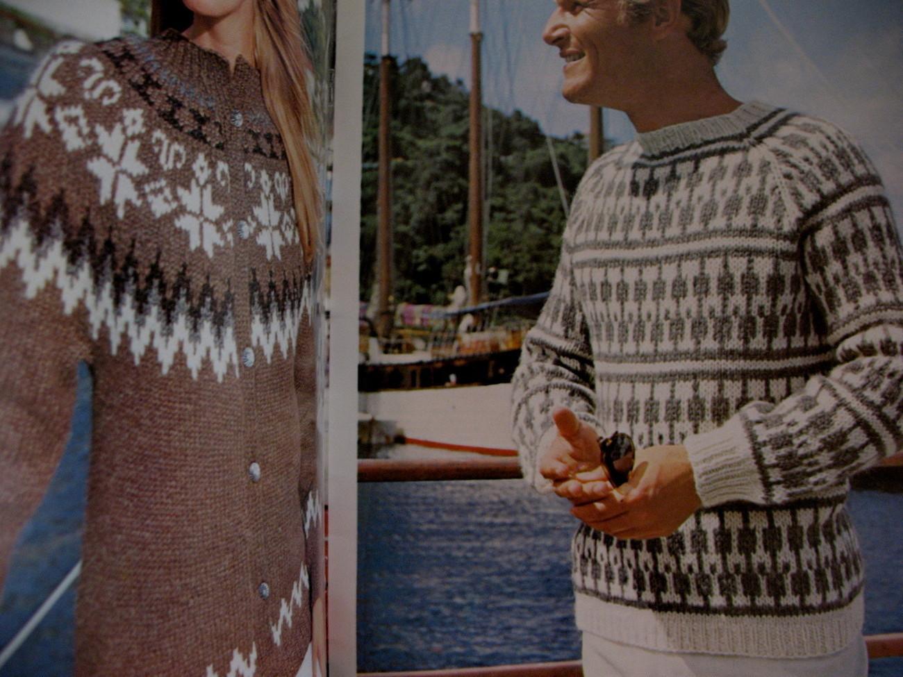 Reynolds Icelandic Lopi Yarn Sweaters and similar items