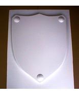 Giant Medieval Celtic Renaissance Molds Make Plaster or Concrete Shields... - $79.99