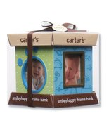 Carter's Resin Bank and 4 Sided Picture Frame, Blue Multi (Discontinued ... - $24.90