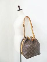 Authentic LOUIS VUITTON Petit Noe Monogram Shoulder Tote Bag Purse #34053 - $295.00