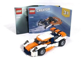 LEGO Creator 31089  Sunset Track Racer 221 Pcs 1100% Complete Missing 1 ... - $14.69