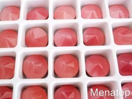 5(Five)  12 mm Rivoli Beads: Pink Opal - $4.10