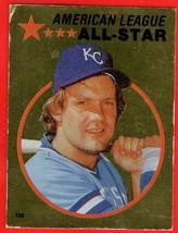1982 Topps #133 George Brett HOF baseball sticker - $0.01