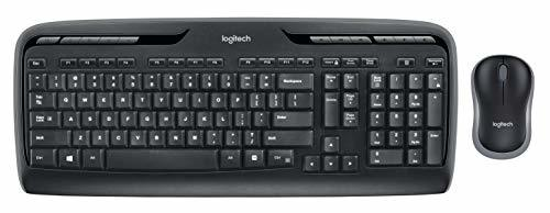 Logitech MK320 Wireless Desktop Keyboard and Mouse Combo — Entertainment Keyboar