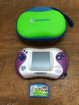 LEAPSTER 2 GAME WITH CASE AND PET PALS GAME CARTRIDGE - $20.91