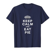 Dog Fashion - Keep Calm and Eat Pie Funny Foodie Lovers T-shirt Men - $19.95+
