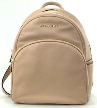 Michael Kors Abbey Medium Backpack Bag Ballet Pink Leather - $507.41