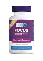 Focus Relief Plus™ Dry Eye Formula, 90 ct 30 day