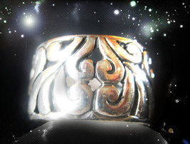 Haunted Ring Alexandria's Give Them Instant Karma Secret Rare Ooak Magick - $7,607.77