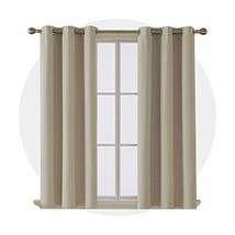 Deconovo Thermal Insulated Room Darkening Curtains Grommet Blackout Curt... - $39.75