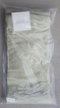 "(Set of 2) NWT Restoration Hardware ""Light Celery"" Color 84"" Thai Silk Drapes - $206.91"
