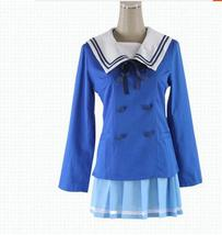 Kyokai no Kanata Cosplay Kuriyama Mirai Costume School Sailor Suit  - $55.99+