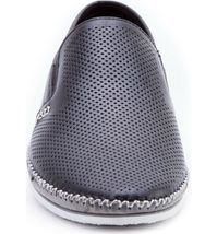 NEW ZANZARA Mens MERZ Slip-On Premium Perforated Leather Shoes image 4