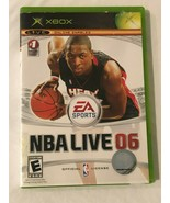 Xbox Video Game NBA Live 06 with Manual and Case Tested - $4.99